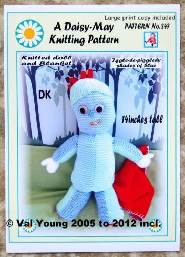 Knitted Dolls Blanket Ebay