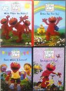 Elmo's World DVD Lot