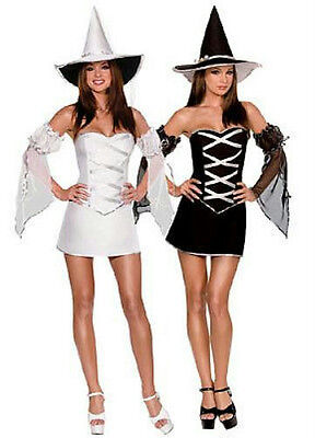 Which Witch Adult Sexy Reversible Corset Costume Small 2-6 - Corset Witch Costume