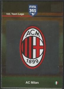 103. Team Logo (AC Milan) Panini Adrenalyn XL FIFA 365 World Top Teams - Bydgoszcz, Polska - 103. Team Logo (AC Milan) Panini Adrenalyn XL FIFA 365 World Top Teams - Bydgoszcz, Polska