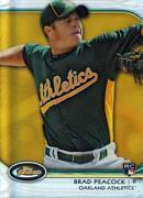 2012 Topps Finest Baseball Gold Refractors