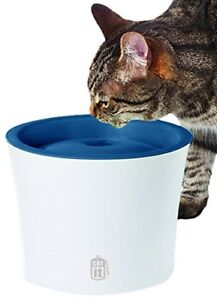 Catit Design Senses Fountain with Water Softening Filter for Cat