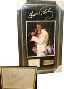 Elvis Presley Autograph