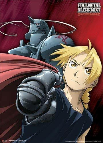 *NEW* Fullmetal Alchemist Brotherhood: The Elric Brothers Fabric Poster