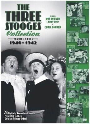 The Three Stooges - The Three Stooges Collection: Volume 3: 1940-1942 [New DVD]