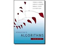Introduction to Algorithms [THOMAS CORMEN] 3rd ed. (may be negotiated)