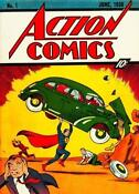 Action Comics 1 Superman 1938
