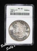 1880 s Morgan Silver Dollar MS63