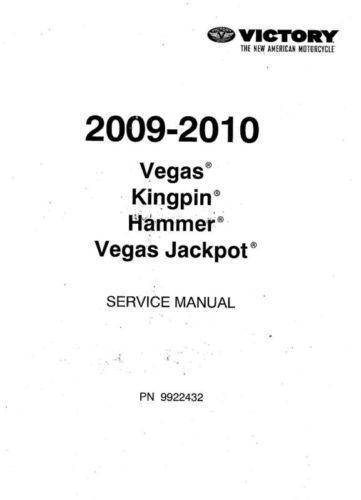 Victory Kingpin Service Manual