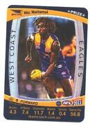 2011 AFL Teamcoach Cards