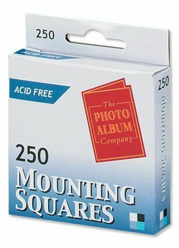1000 x Photo Mounting Adhesive Squares (Stickers) - Ms250- 288195