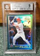 2001 Topps Chrome Traded Albert Pujols