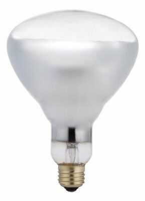 Philips 416750 Heat Lamp 125-watt Br40 Clear Flood Light Bulb