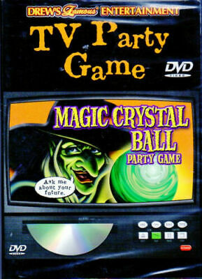 Halloween Movie Party Game (Drew's Famous MAGIC CRYSTAL BALL: VIRTUAL WITCH HALLOWEEN TV PARTY GAME DVD!)