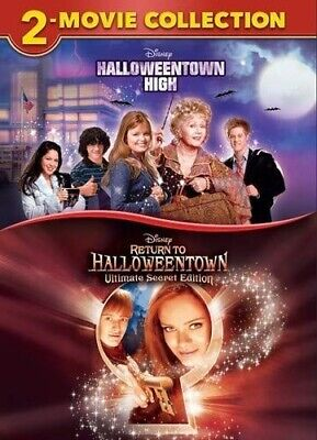 HALLOWEENTOWN HIGH + RETURN TO HALLOWEENTOWN New DVD 2 Movie Collection