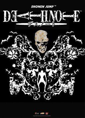 *NEW* Death Note: Skull & Ryuk Design Wall Scroll by GE Anim