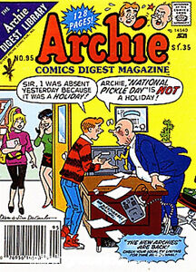 i buy aechie digest comic books,blu ray movies & coins
