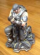 Gears of War Statue