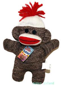 Schylling Sock Monkey Baby BROWN SALE!