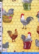 Chicken Fabric