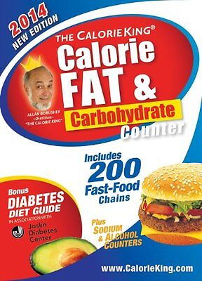 The CalorieKing Calorie, Fat & Carbohydrate Counter 2014: Pocket-Size Edition by