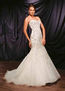 Wedding dress and engagement party dress