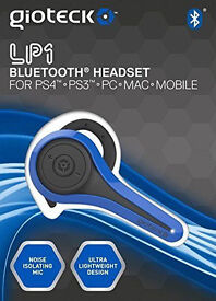 NEW SEALED PS4 Playstation 4 Gioteck LP-1 Bluetooth Chat Headset