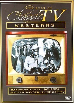 Best of Classic TV Westerns Vol. 1 (DVD, 2005, #15119) BRAND NEW FACTORY (Best Quality Television Brands)