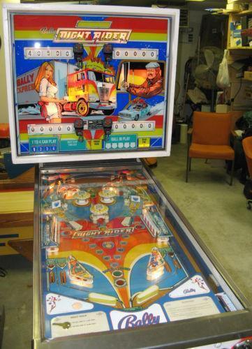 Night Rider Pinball | eBay