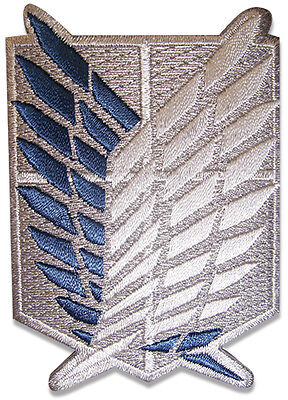 License   Attack On Titan Survey Corps Scout Regiment Iron On Patch  44712
