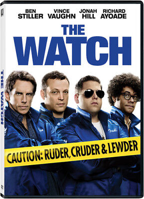 The Watch [New DVD] Ac-3/Dolby Digital, Dolby, Dubbed, Subtitled, Widescreen