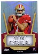 2011 Topps Chrome Colin Kaepernick