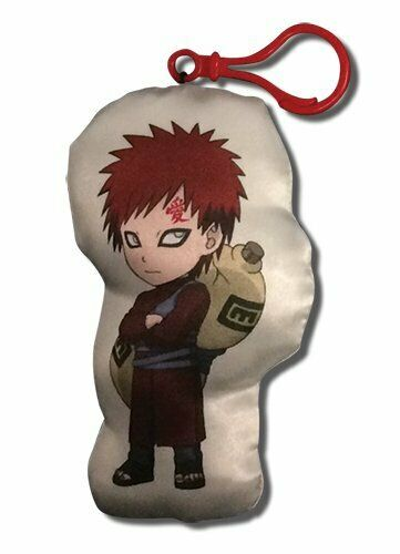 "*NEW* Naruto Shippuden: Gaara 4"" Plush Key Chain"