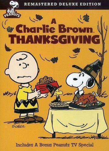 A charlie brown thanksgiving dvd