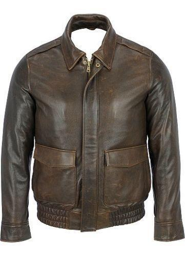 The Type A-2 leather flight jacket is one of the most classic and immediately recognizable articles of military clothing ever designed.