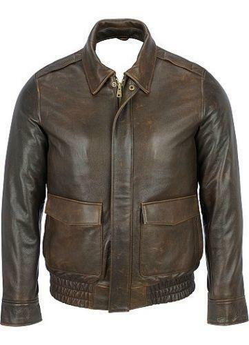 Brown Aviator Jacket