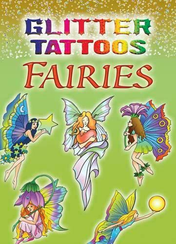 Fairies Glitter Tattoos Little Book Waterproof Designs Jan Sovak