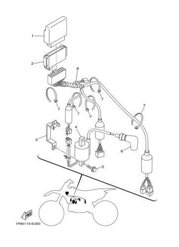 1979 Yamaha 250 Wiring Diagram