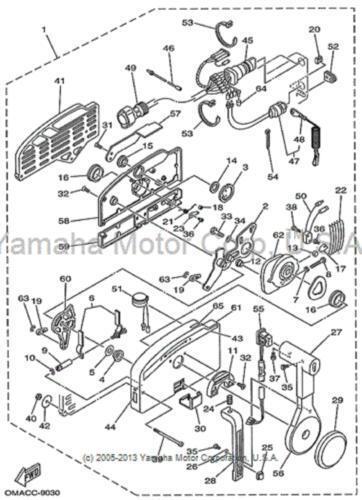 Yamaha 703 Control Box Diagram