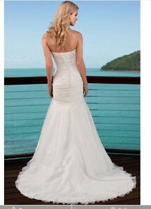 elegant Beach Wedding Dress/ Bridal Gown/Ball Gown beautifulgoddess99