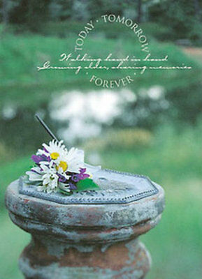 Today Tomorrow Forever Sundial Wedding Bulletins - 100 sheets](Wedding Bulletins)