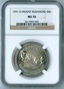 Mount Rushmore Anniversary Coins