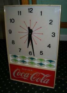 Coca Cola Clock Ebay
