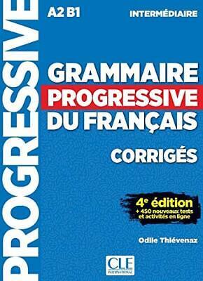 Grammaire progressive du francais - Nouvelle edition: Corrige New Paperback Book