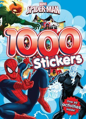 Spider-man 1000 Stickers With Over 60 Activities Inside