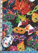 Mardi Gras Fabric