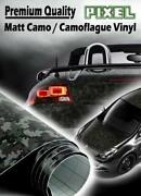 Camo Vinyl Wrap