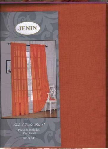 Peach Curtains | eBay