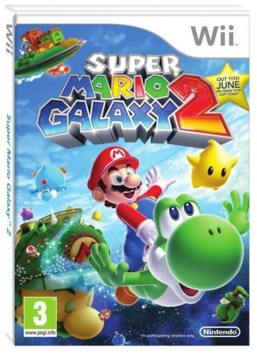 SUPER MARIO GALAXY 2 Wii - NINTENDO WII - Excellent - 1st Class Delivery