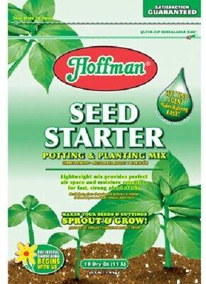 Soilless Mix (Hoffman, 10 QT, Seed Starter, Specially Formulated Soilless Mix)